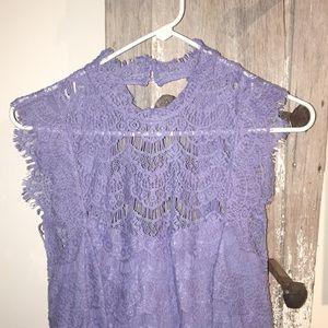 NWT • Free People lace LAKE dress